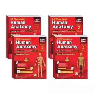 Human Anatomy (Volume 1, 2, 3,4)