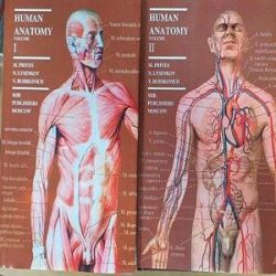 Human Anatomy (2 Volume set) books