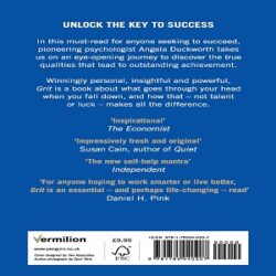 Grit Why passion and resilience are the secrets to success books