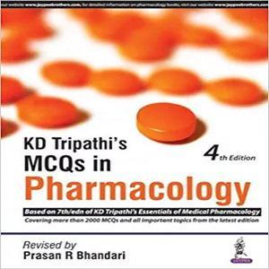 KD Tripathi's MCQs in Pharmacology