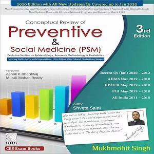 Conceptual Review of Preventive & Social Medicine (PSM)
