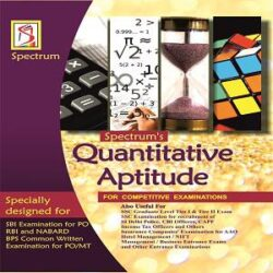 QUANTITATIVE APTITUDE for Bank POMT and Other Competitive Examinations books