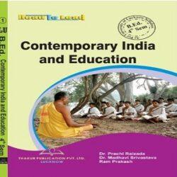 Contemporary India & Education books