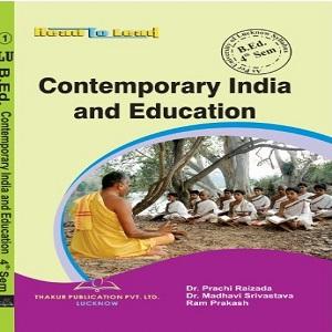 Contemporary India & Education