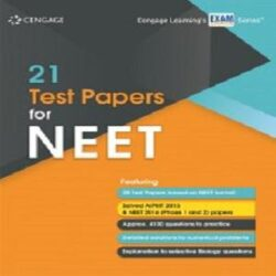 21 Test Papers for NEET Books