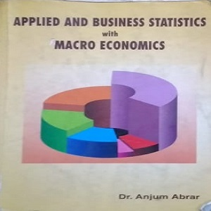 Applied and Business statistics with Macro Economics