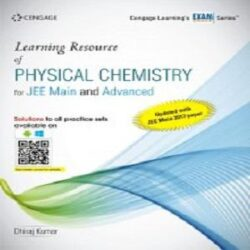 Learning Resource of Physical Chemistry for JEE Main and Advanced books