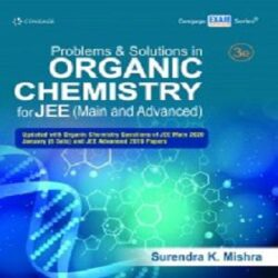 Problems and Solutions in Organic Chemistry for JEE (Main and Advanced), books