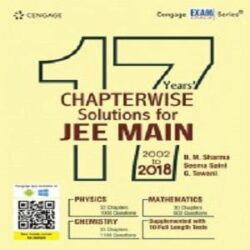 17 Years' Chapterwise Solutions for JEE Main 2002 to 2018 books