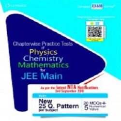 Chapterwise Practice Tests of PCM for JEE Main books
