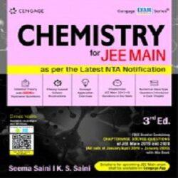 Chemistry for JEE Main, 3E books