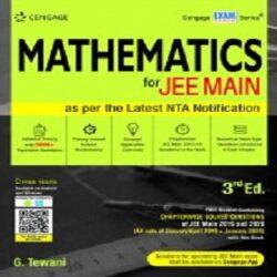 Mathematics for JEE Main, 3E books