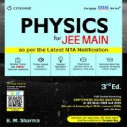 Physics for JEE Main, 3E books