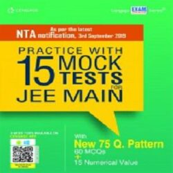 Practice with 15 Mock Tests for JEE Main books