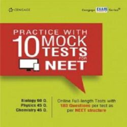 Practice with 10 Mock Tests for NEET Books