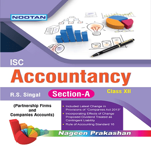 ISC Accountancy XII ( Part-A )