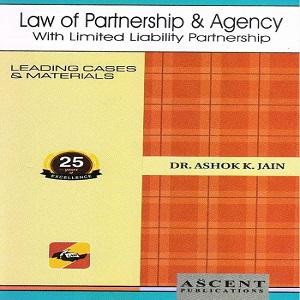 Ascent's Law of Partnership & Agency [4th,Edition]2020