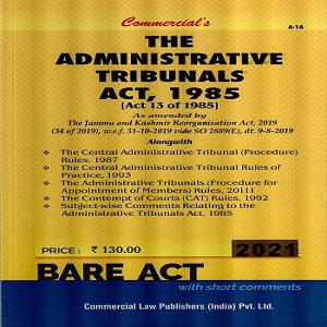 Commercial's The Administrative Tribunals Act,1985