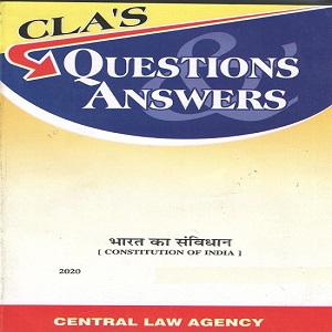 CLA's Question & Answers Constitution of India [Hindi]