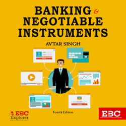 Banking & Negotiable Instruments [4th,Edition 2020] books
