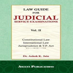 Ascent's Law Guide for Judicial Service Examination(Vol.2)