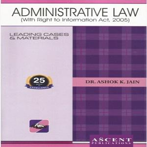 Ascent's Administrative Law [3rd Edition]