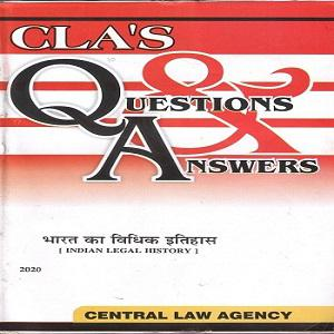 CLA's Question & Answers Indian Legal History in [Hindi]