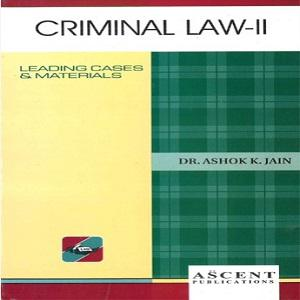 Ascent's Criminal Law-II [6th Edition]