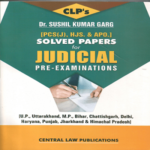 CLP's Solved Papers for Judicial Pre- Examination