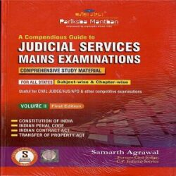 A compendious guide to judical services main examinatoin books