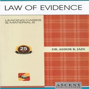 Ascent's Law of Evidence [6th Edition 2019]