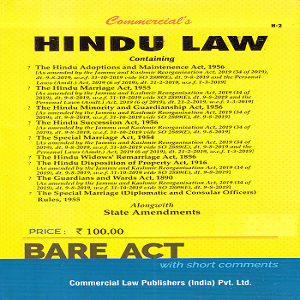 Commercial's Hindu Law