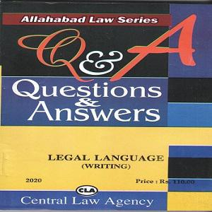 CLA's Question & Answers Legal Language (Writing) [English]