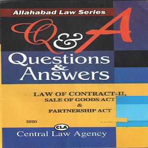 CLA's Question & Answer on Law of Contract 2 Sale of Goods Act and PartnerShip Act [English]
