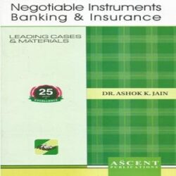 Ascent's Negotiable Instruments Banking & Insurance books