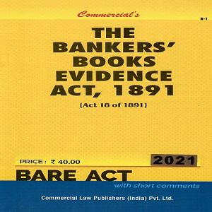 Commercial's The Bankers' Books Evidence Act 1891