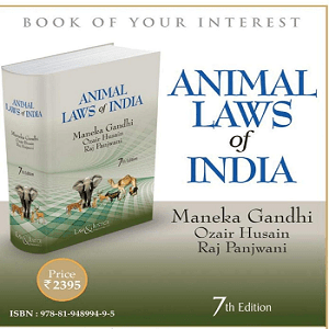 Animal Laws of India [7th,Edition 2021]