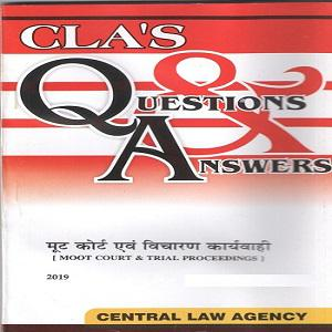 CLA's Question & Answers [Hindi]-2019 Moot Court & Trial Proceedings [Hindi]