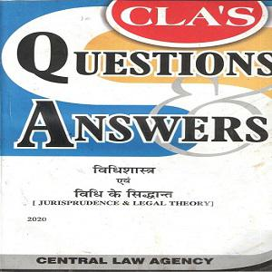 CLA's Question Answers Jurisprudence & Legal Theory