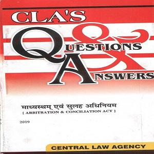 CLA's Question & Answers Arbitration & Concilation Act