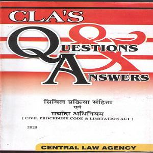 CLA's Question & Answers Civil Procedure Code and Limitation Act