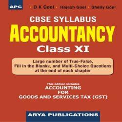 Accountancy Class- XI books