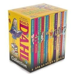 Roald Dahl 15 Copy Slipcase books