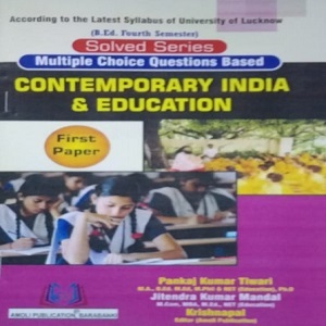 Contemporary India & Education Solved Series