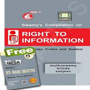 Swamy's Compilation on Right to Information