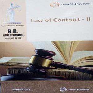Q&A on Law of Contract-II By Rosedar S R A