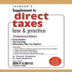 Taxmann's Supplement to Direct Taxes Law & Practice