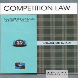 Competition Law [3rd Edition] By Dr. Ashok Kumar Jain