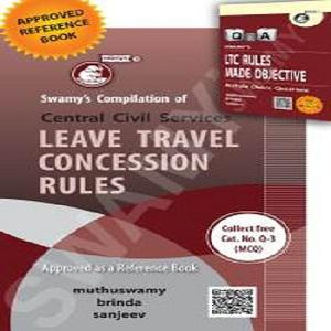 Swamy's Leave Travel Concession Rules with Free MCQ (English)-[2020]