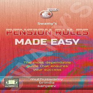 Swamy's Pension Rules Made Easy Book [2020]
